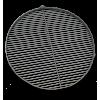 Palenisko z rusztem i nogami 30 cm grubość ścianki 2 lub 2,5 mm