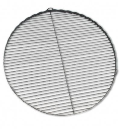 Ruszt stalowy z falbanką o średnicy 55 cm