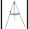 Trójnóg składany z rusztem 55 cm z rolką i kołowrotkiem